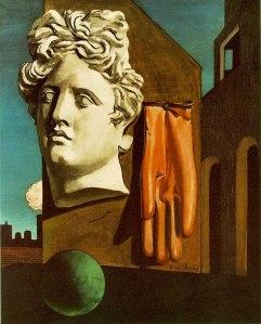 Giorgio De Chirico, The Song of Love, Paris, 1914